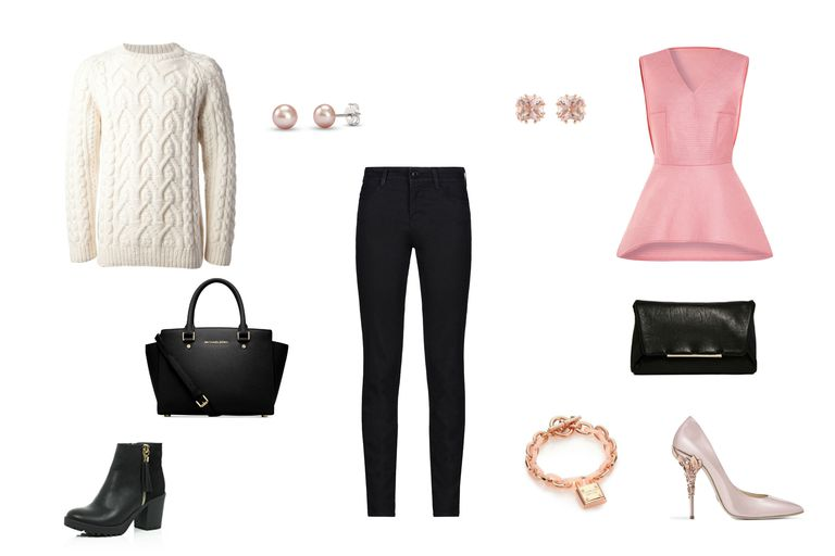 605f4b132d6d Casual Weekend to Night Out Look. Day to night outfit with black jeans