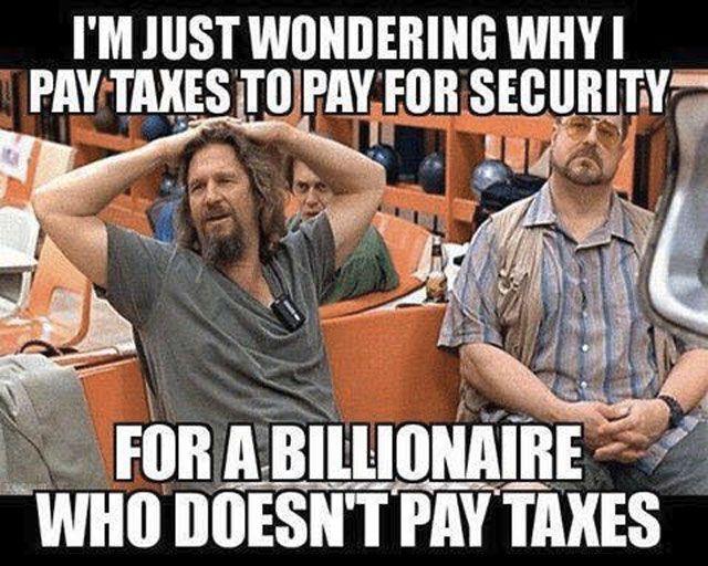 taxes - Trump meme