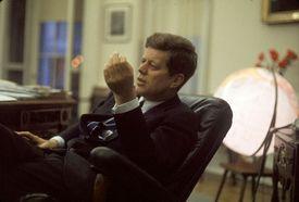 John F. Kennedy in office