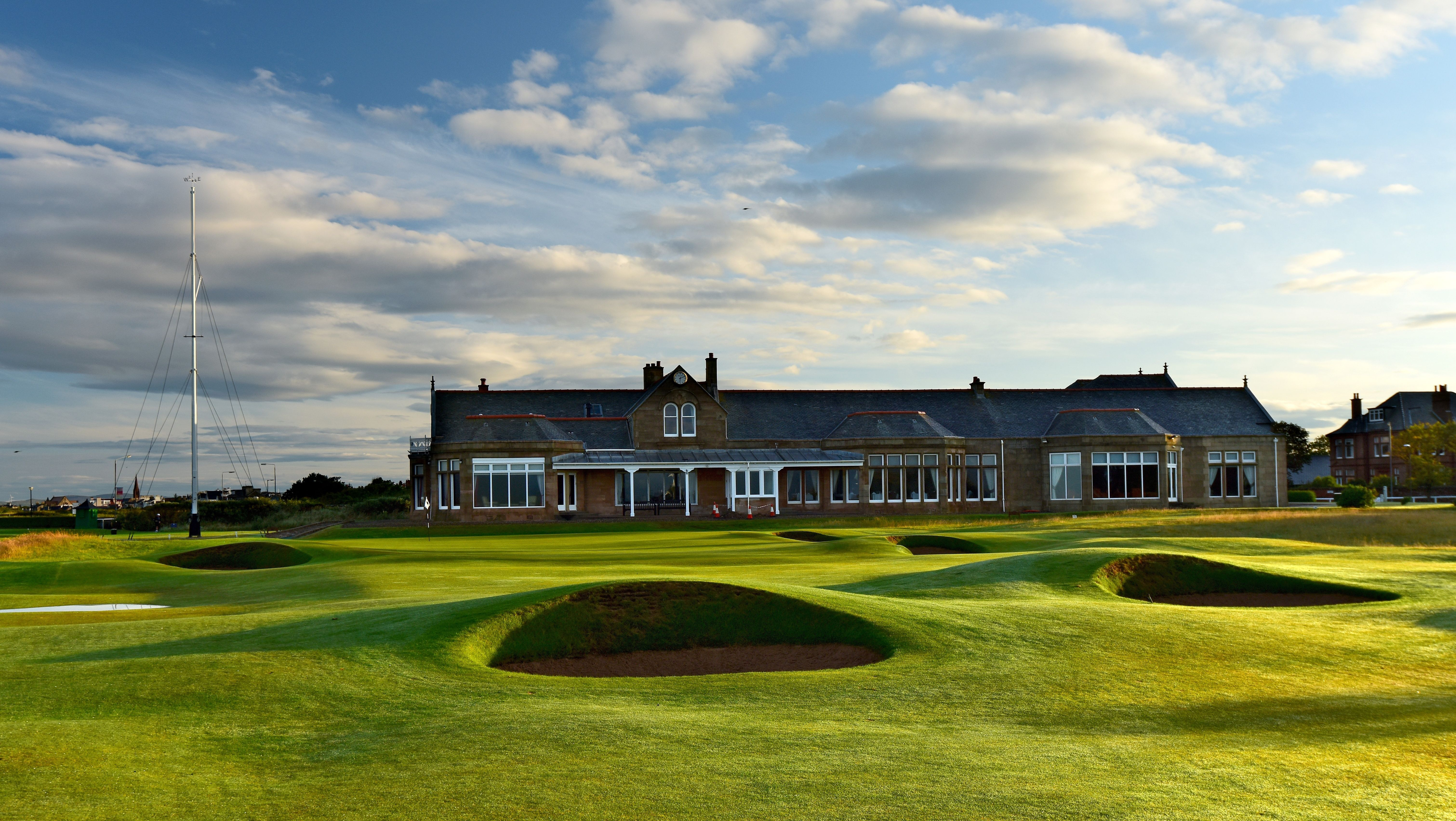 The 457 yards par 4, 18th hole on the Old Course at Royal Troon