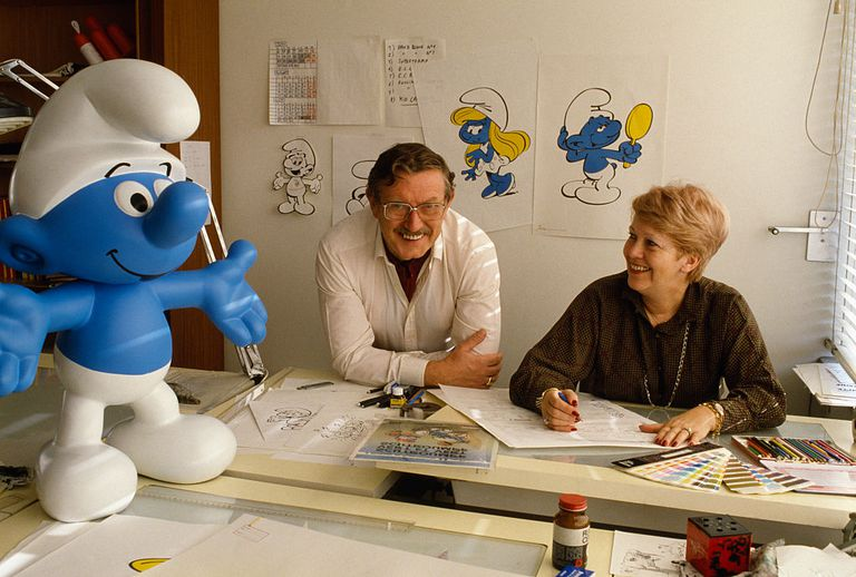 Creator of The Smurfs