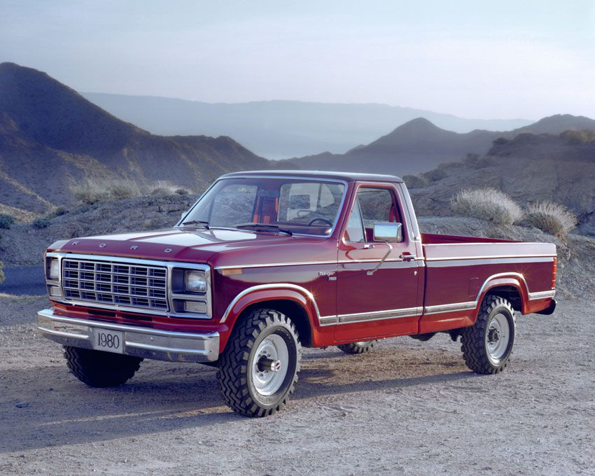 1980 Ford F-250 Pickup Truck