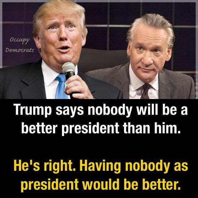 Nobody - Trump meme