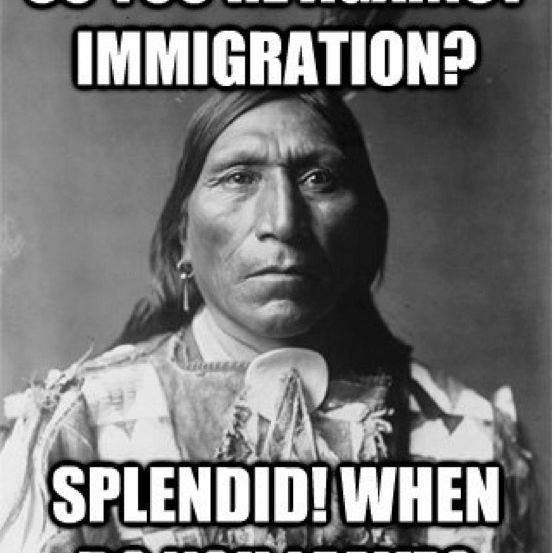 Immigration Meme: Indians When Are You Leaving?