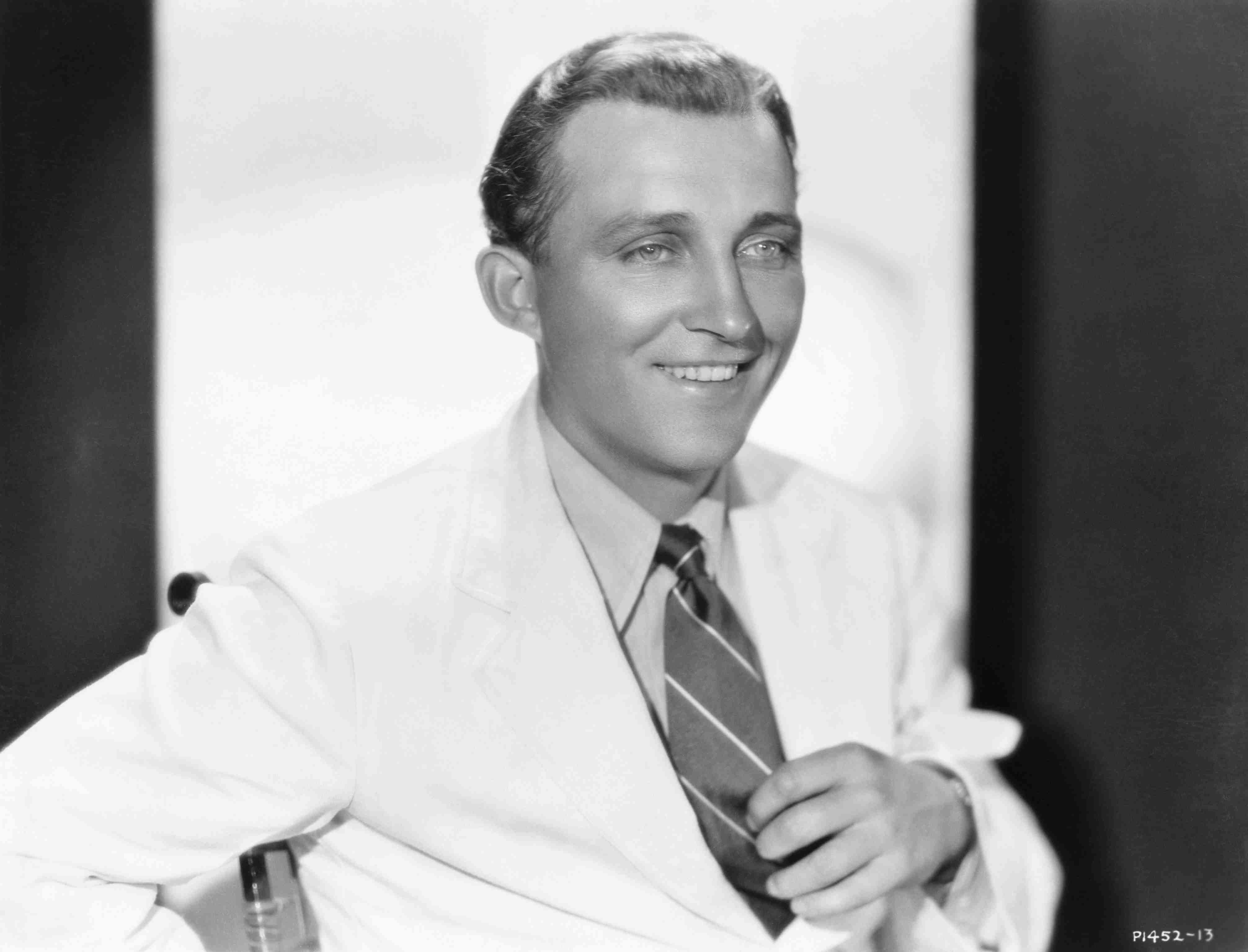 Bing Crosby in Suit and Tie