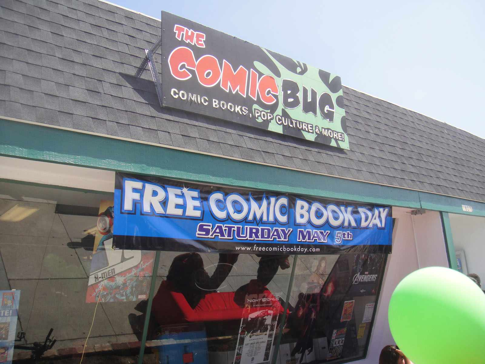The Comic Bug store