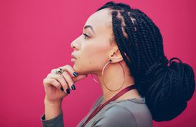Box braids are low-maintenance but still require proper care.