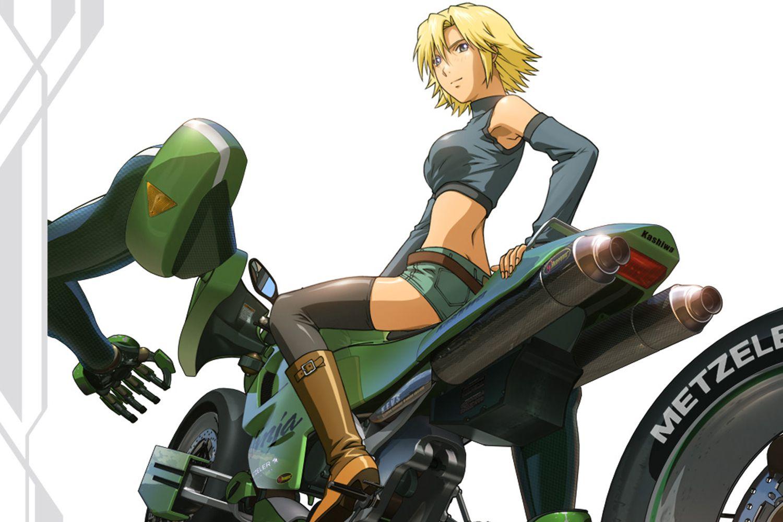 Rideback Anime Series