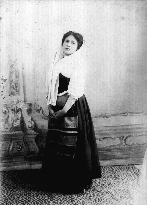 Maria Farneti-Cavalleria Rusticana 1901-Citta di Castello