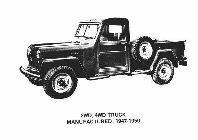1947 Jeep Pickup Truck