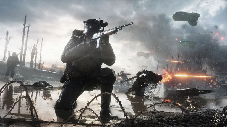 Screenshot from Battlefield 1