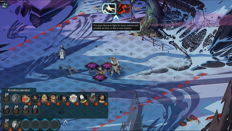 Screenshot of The Banner Saga 3