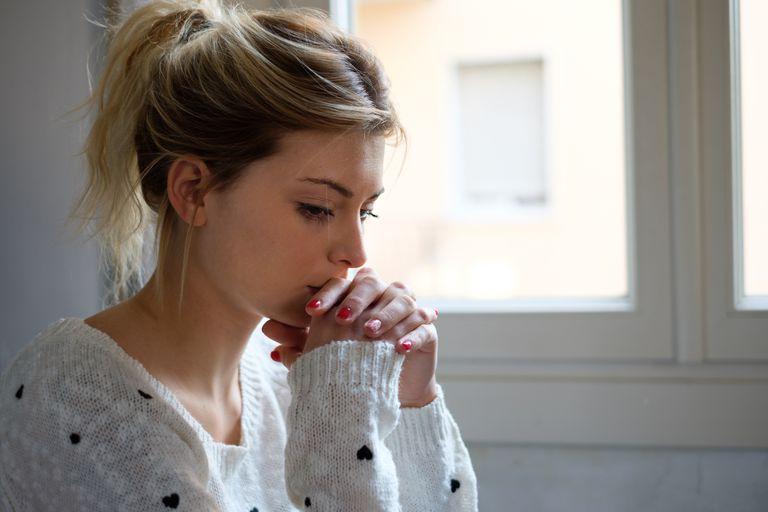 Sad girl.