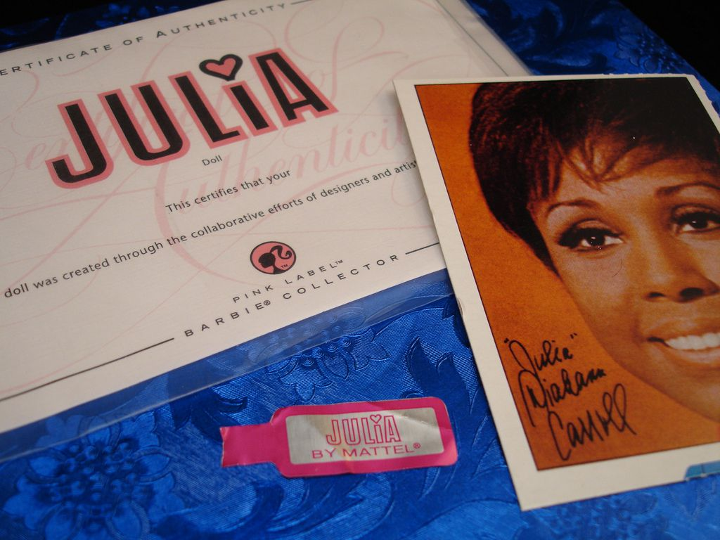 "Diahann Carroll starred in ""Julia."""