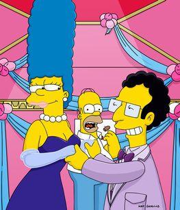 Marge Simpson and Artie Ziff - Half-Decent Proposal