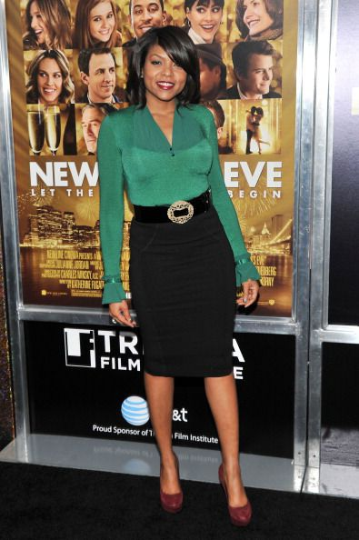 85bfaed7977c5 Petite Taraji P. Henson in black pencil skirt. Stephen Lovekin Getty Images