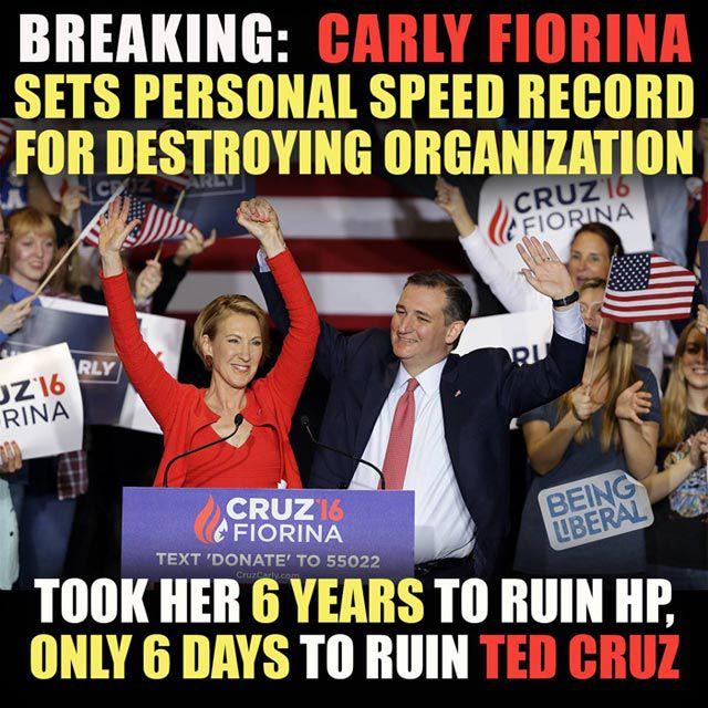 Fiorina Ruins Cruz Campaign