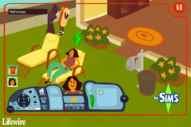 An illustrated version of The Sims