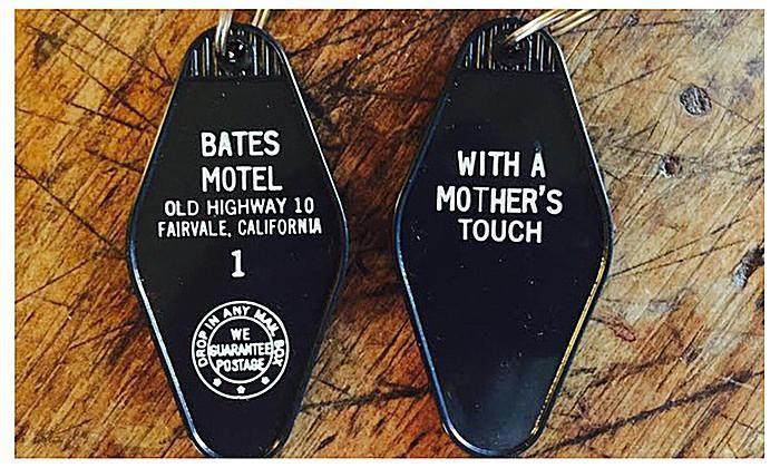 Bates Motel Key Ring