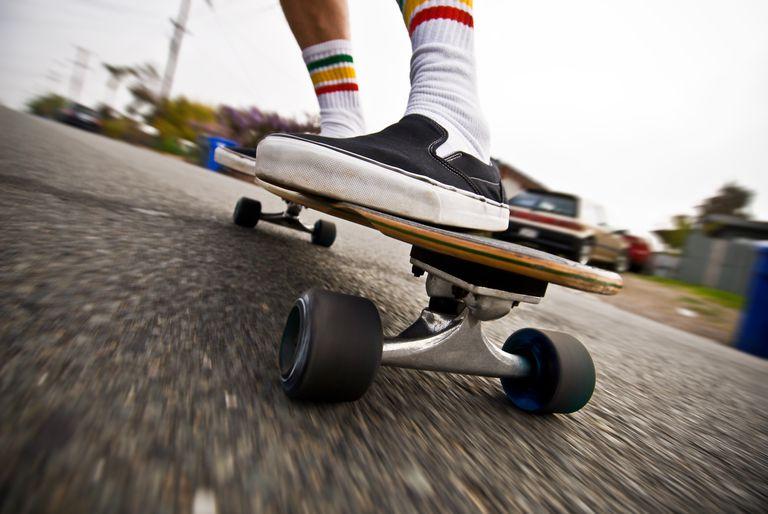 Skateboarding