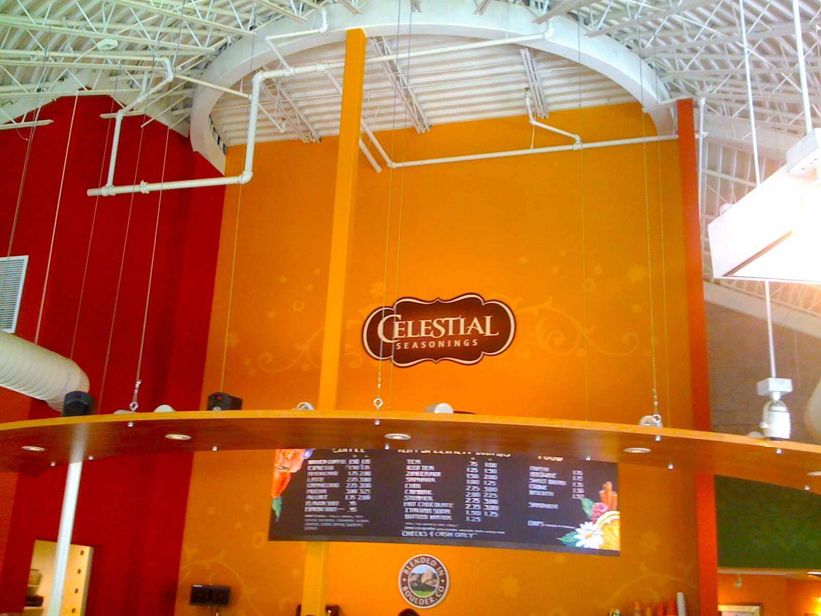 Celestial Seasonings Factory Tour