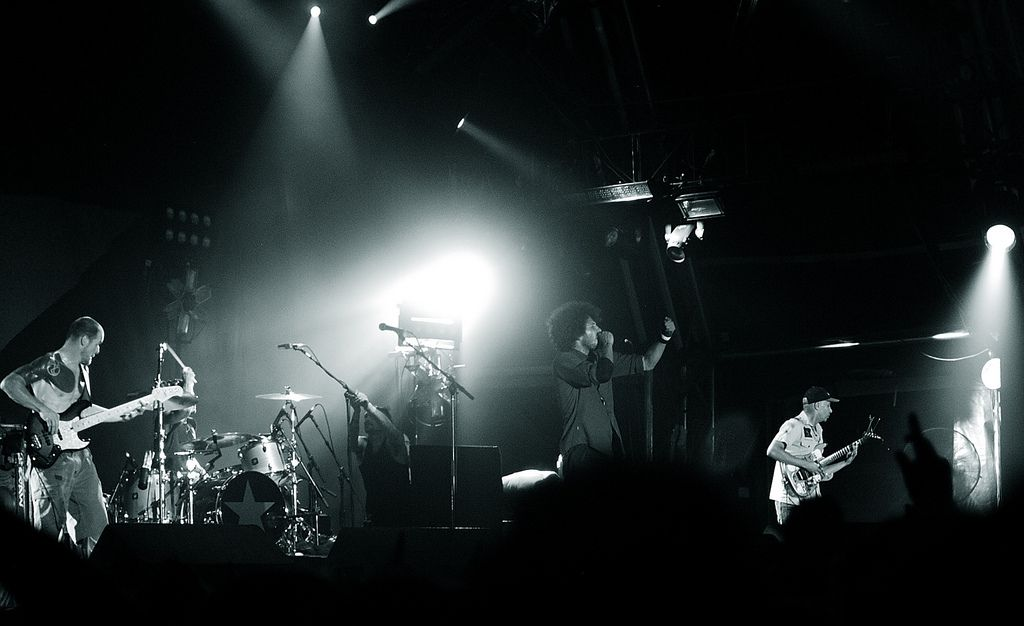 Rage Against The Machine at Big Day Out 2008