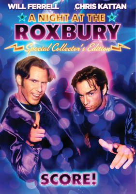 DVD cover art for A Night at the Roxbury