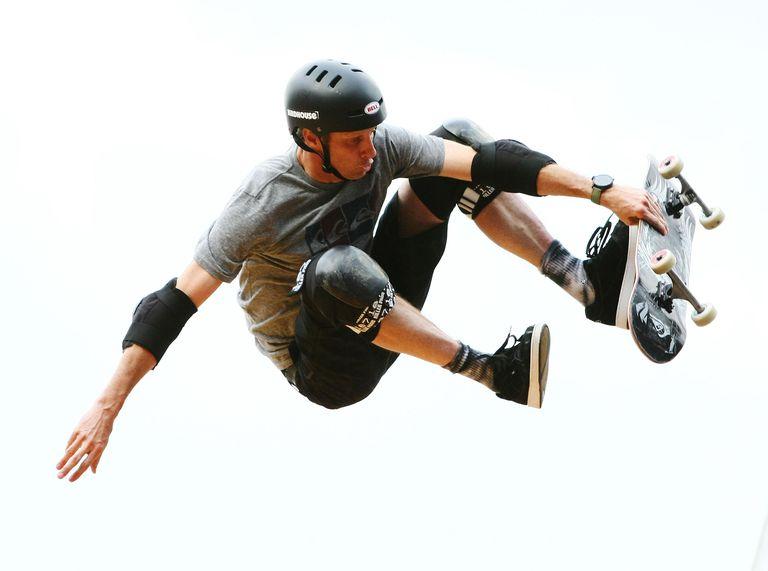 Pro Skateboarder Tony Hawk in Sydney, Australia 2012