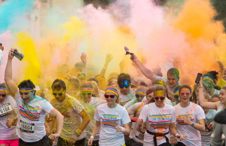 Prague Color run 2015