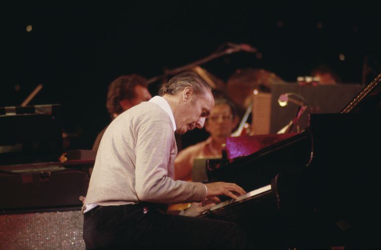 Henry Mancini performing