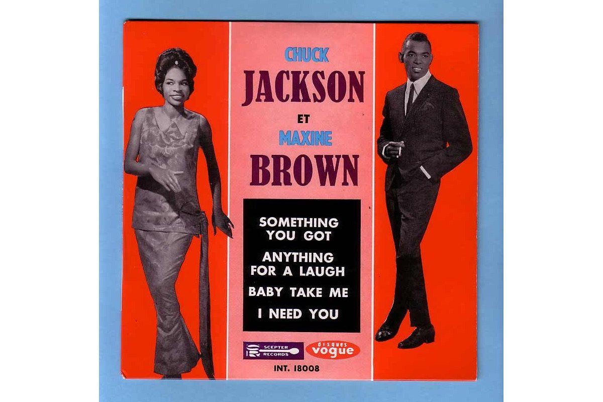 Chuck Jackson and Maxine Brown