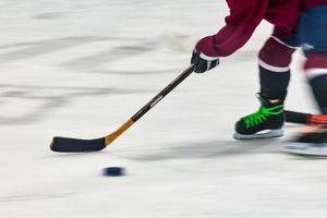 Youth Playing Hockey