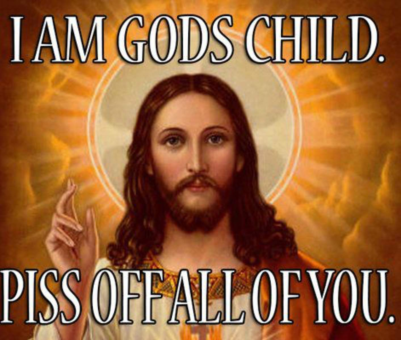 Meme of Jesus.