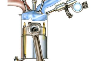 Gasoline direct injection system components