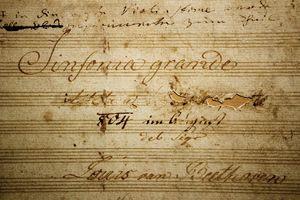 Eroica Symphony title page