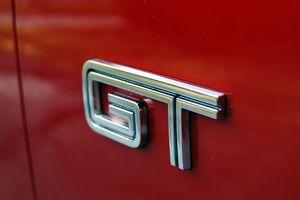 Mustang GT Badging