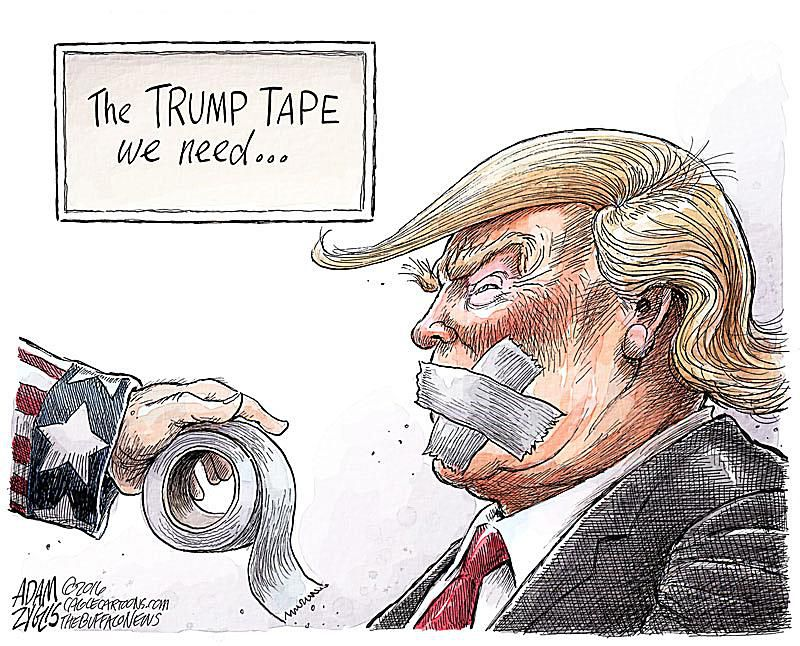 Donald Trump Cartoons Best Trump Political Cartoons