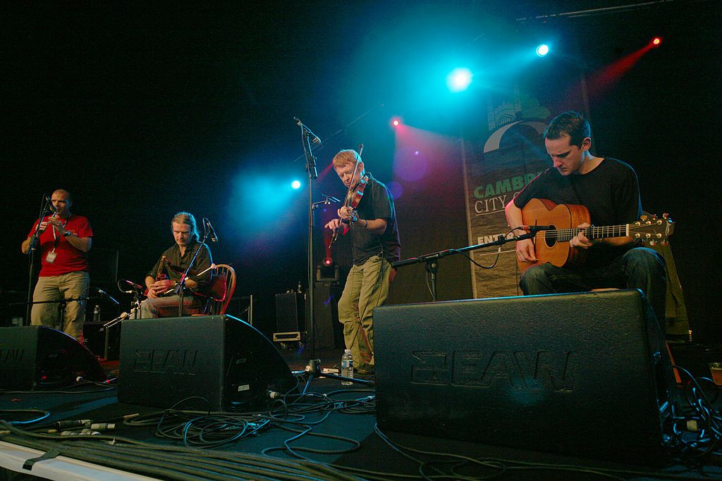 Kevin Crawford, Cillian Vallely, Sean Smyth and Paul Meehan of Lunasa