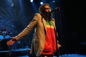 Bad Brains performs at a concert