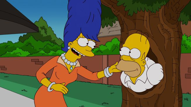 Bart and Homer's Excellent Adventure - Treehouse of Horror XXIII