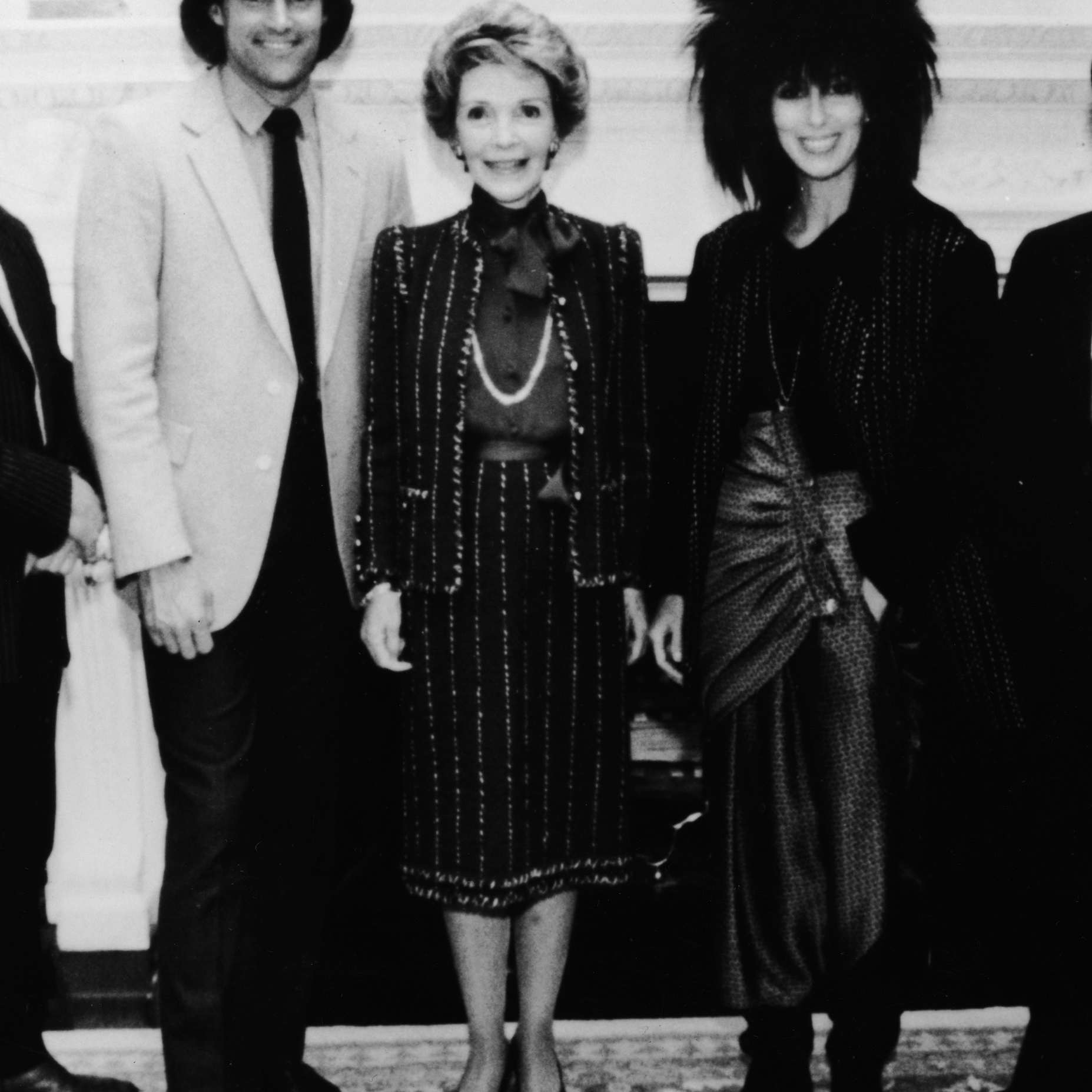 Bruce, Nancy, and Cher