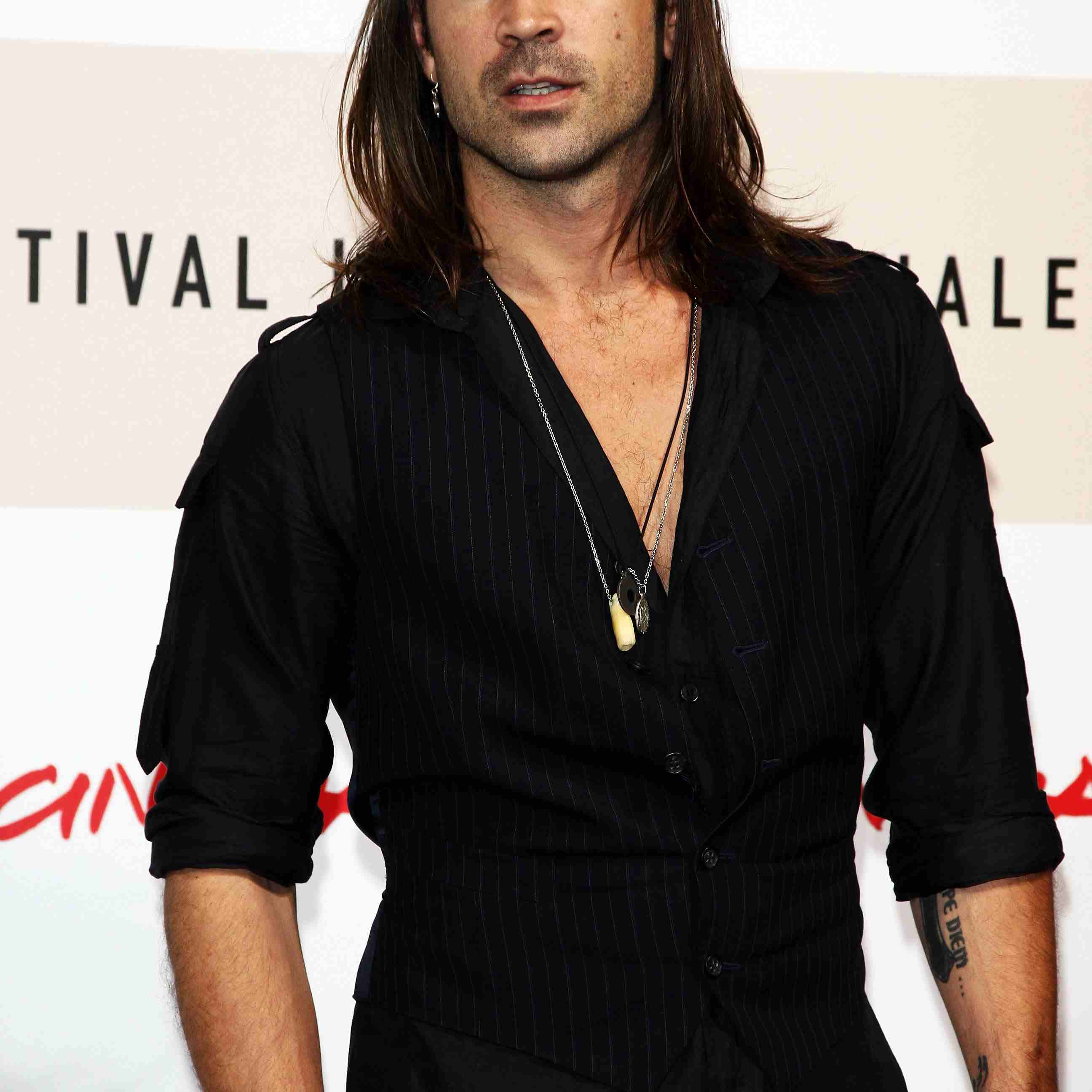 Collin Ferral on a red carpet