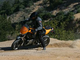 Buell's XB12 in action