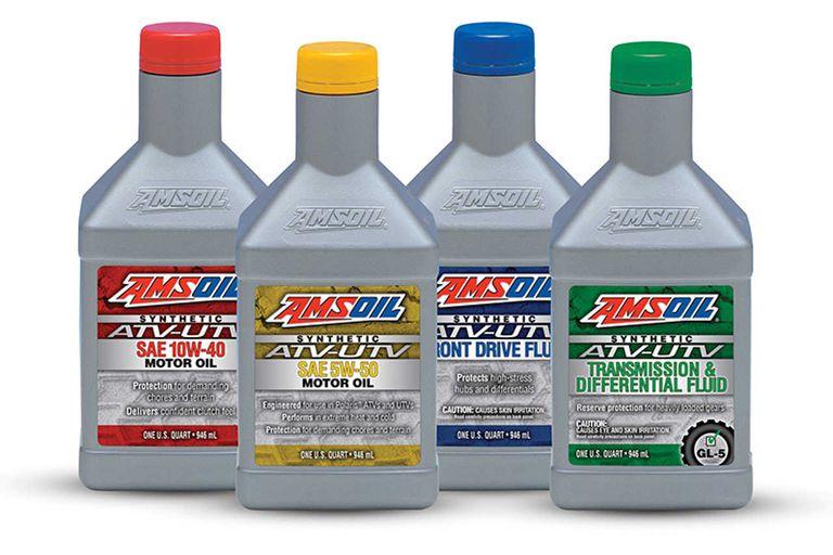 Bottles of Amsoils
