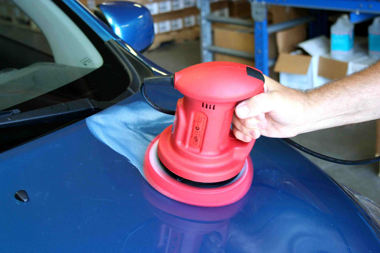 How to detail a car - polish