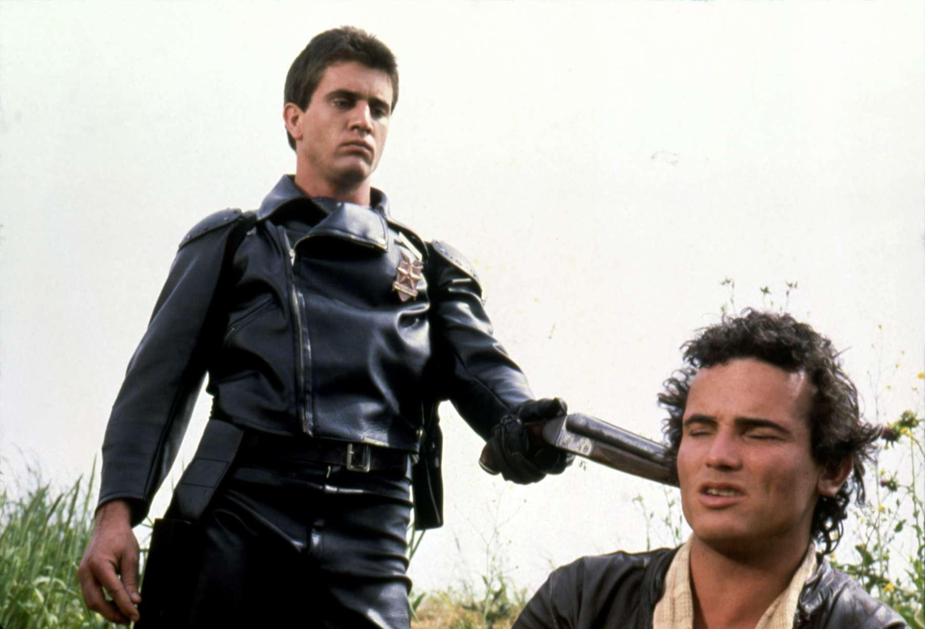 Actors Mel Gibson and Hugh Keays-Byrne