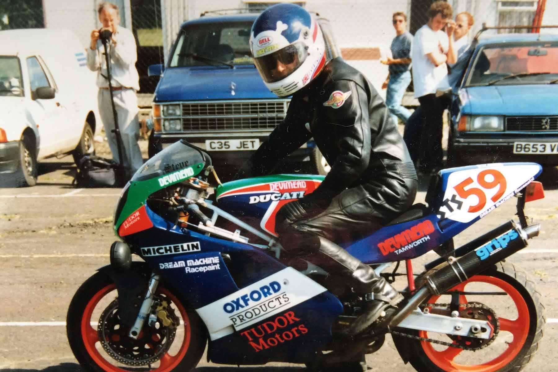 A Ducati 888.