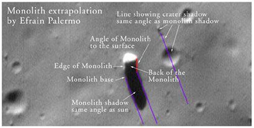"The ""monolith"" on Phobos"
