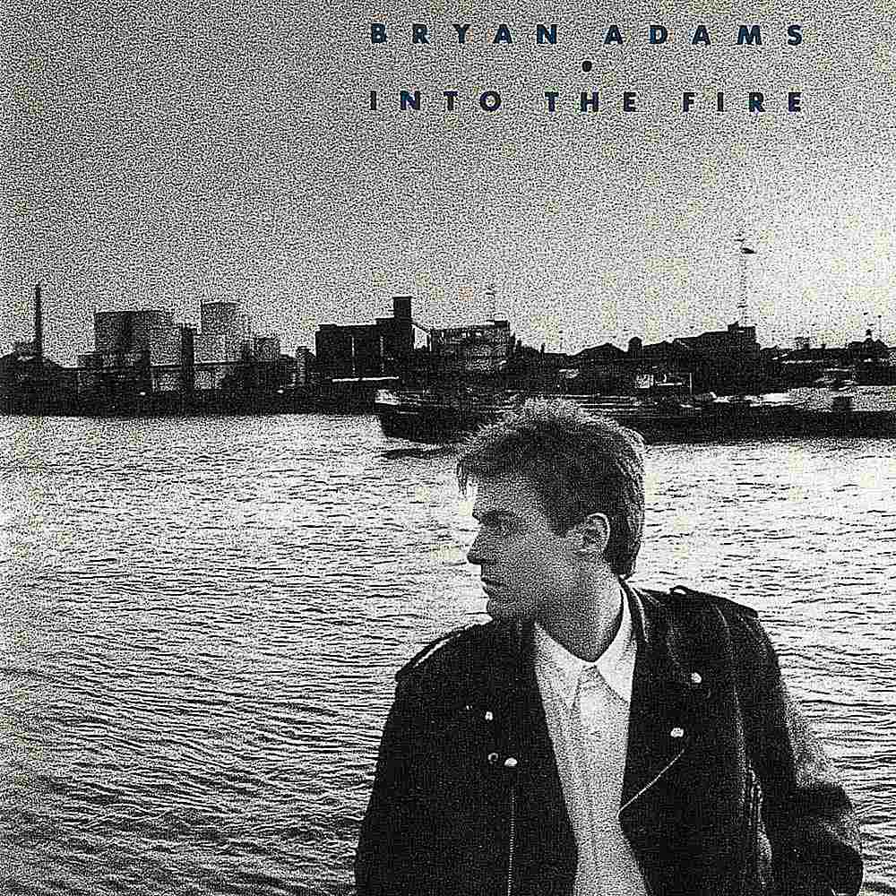 """Bryan Adams' 1987 album 'Into the Fire' contained fewer great songs than the artist's previous '80s releases, but """"Hearts on Fire"""" is a solid rocker.."""