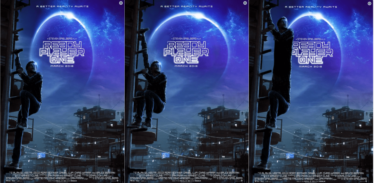 Ready player one poster meme